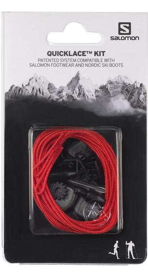 Salomon Quicklace Kit - rouge
